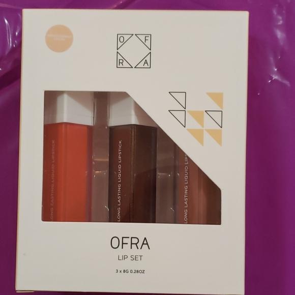 Ofra nikkietutorials lip set brand new in box